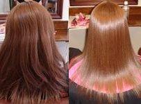 縮毛矯正で硬い毛髪を美髪に変える