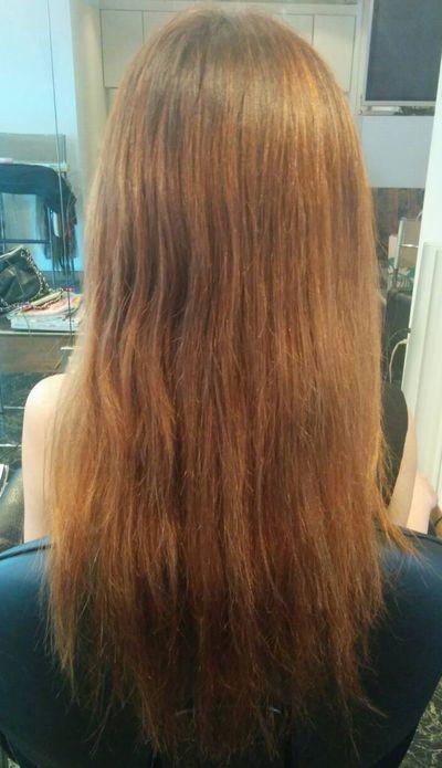 高難易度縮毛矯正基本攻略技術『美髪矯正シルクレッチ®』艶出し