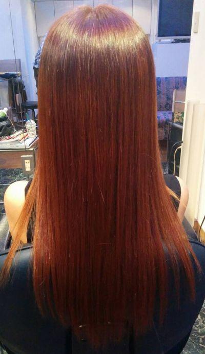 高難易度縮毛矯正基本攻略技術『美髪矯正シルクレッチ®』艶出しアフター