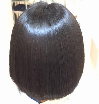 高難易度縮毛矯正攻略システム美髪矯正シルクレッチ®アフター