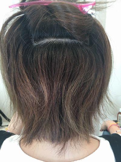 高難易度縮毛矯正美髪矯正シルクレッチ®ビフォー