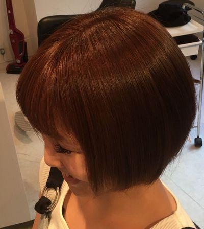 高難易度縮毛矯正美髪矯正シルクレッチ®アフター