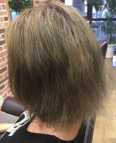 会津若松高難易度美髪縮毛矯正エンパニ®の髪質改善効果