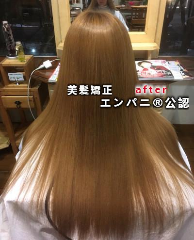 葛西縮毛矯正|高難易度攻略上手い美髪化縮毛矯正の髪質改善力