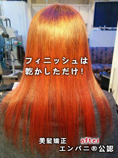 エンジェルパニック カラー(エンパニ)柔らかな毛髪環境を持続させるカラー法