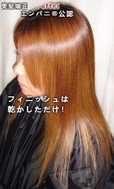 町田(町田縮毛矯正)美髪改善効果にかなり優れた美髪縮毛矯正エンパニ®